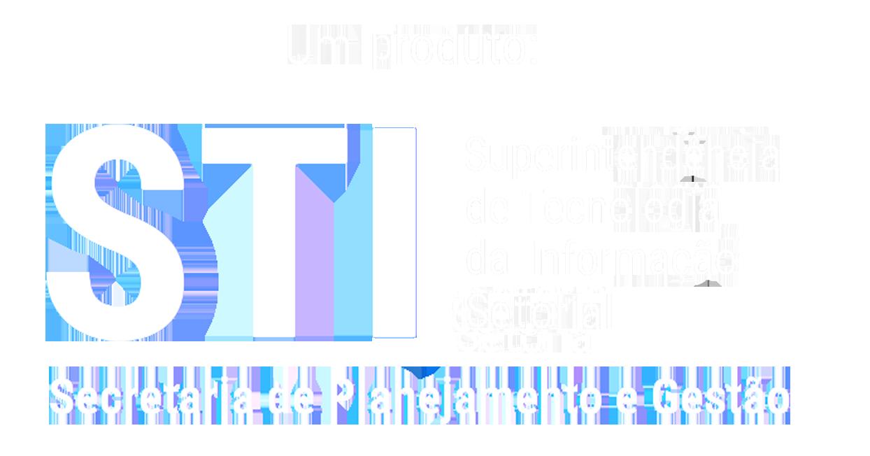 assinatura de desenvolvido pela CTI-SEGES